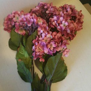 Six Rose Hydrangea Sprays